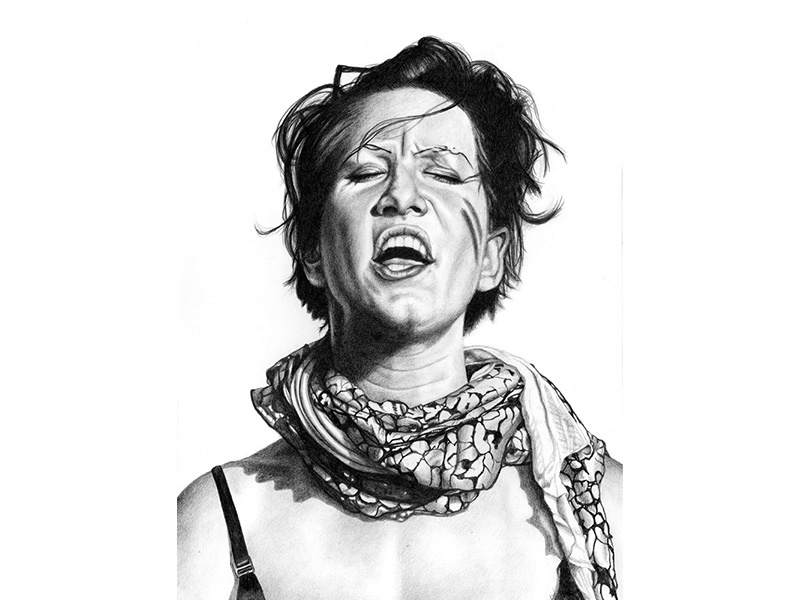 Amanda Palmer art drawing graphite portraits illustration art illustration amanda palmer afp
