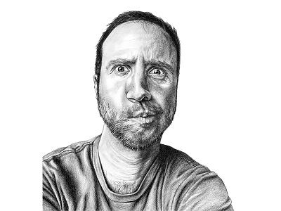 Carlos art portrait portraits realism graphite illustration drawing