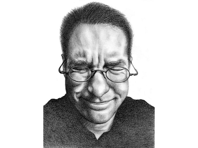 Ian illustration drawing portrait art portrait illustration graphite drawing graphite portrait