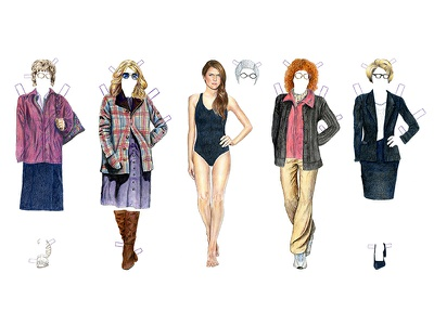 The Americans Elizabeth Jennings Paper Dolls art drawing illustration paper dolls elizabeth jennings keri russell the americans pop culture celebrity tv theamericans