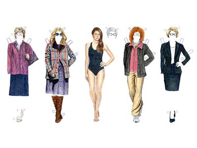 The Americans Elizabeth Jennings Paper Dolls