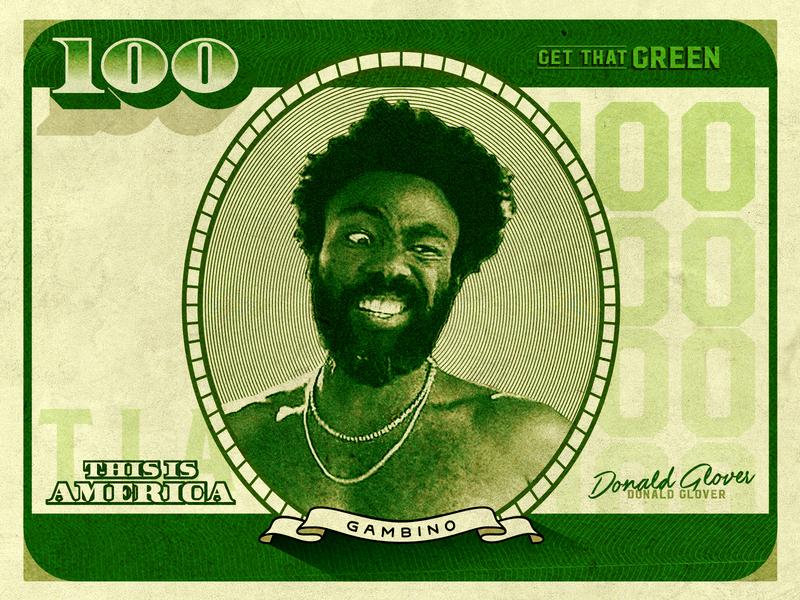IV. Currency green money america childish gambino donald glover 100 dollars cash