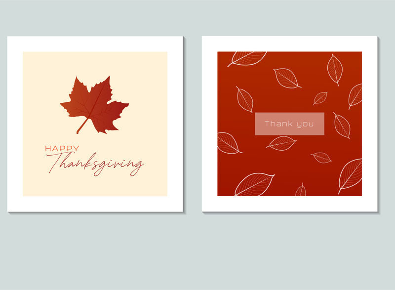 Cards Thanksgiving day thanks thanksgiving card banner beautiful poster illustration design art