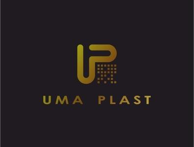 Uma Plast logo design vector design logo