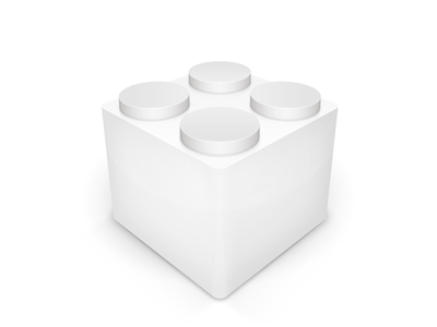 General Plugin Icon lego block icon plugin cube