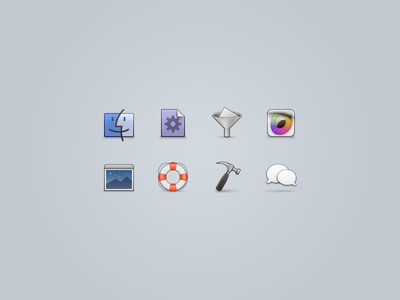 32px Icons for Web icons web 32px finder funnel retina hammer bubble life ring