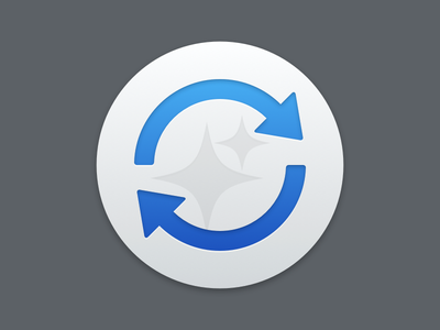 Sparkle.framework os x icon circular arrows update sparkle