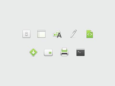 Preferences Icons macos ⌘ printer file pen preferences 32px icons