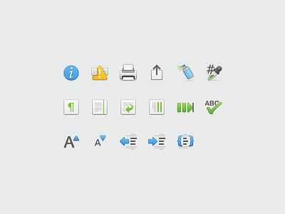 Small Toolbar icons tab dropper spray toolbar macos icons 24px