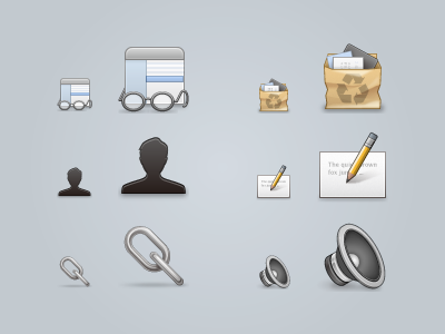 Preferences Toolbar Icons @2x chain icons toolbar preferences mac @2x 32px 64px link junk speaker