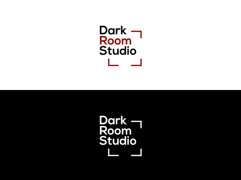 Dark Room Studio Logo - Daily Logo #25 photographer logo photographer photography adobe illustrator flat vector logo design logo design illustration dailylogochallenge branding