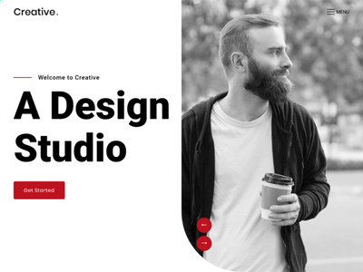 Creative - Bootstrap 4 Template responsive personal app portfolio onepage efftects design multipurpose app templates bootstrap4 business landing pages