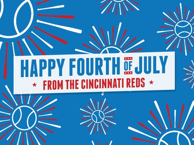Reds 4th of July