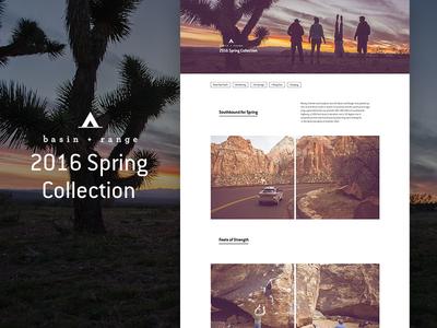 Basin+Range Spring Collection