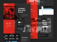 TrainerRoad Homepage Concept