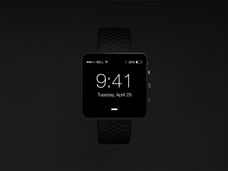 Iwatch concept wip