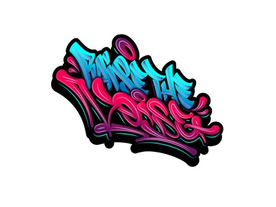 Raise the Noise sketch process vector graffiti леттеринг каллиграфия typography logotype brushpen logo lettering calligraphy