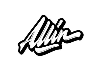 Alinn brand font леттеринг каллиграфия typography clothing logo type logotype lettering calligraphy