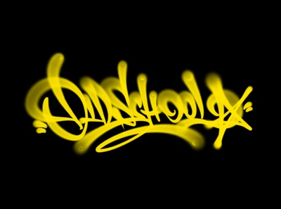 oldschool леттеринг каллиграфия fat cap spray oldschool procreate tagging graffiti logotype type logo brushpen calligraphy lettering