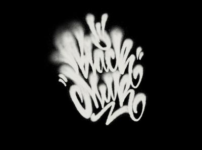 black milk каллиграфия леттеринг spray fatcap procreate graffiti typography logotype type logo calligraphy lettering black milk