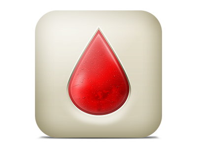 BloodNote2 - icon ios applications app iphone icon