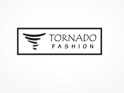 Tornado fashion logo brand logoconcept icon design illustration branding simple logo logodesigns logo flat