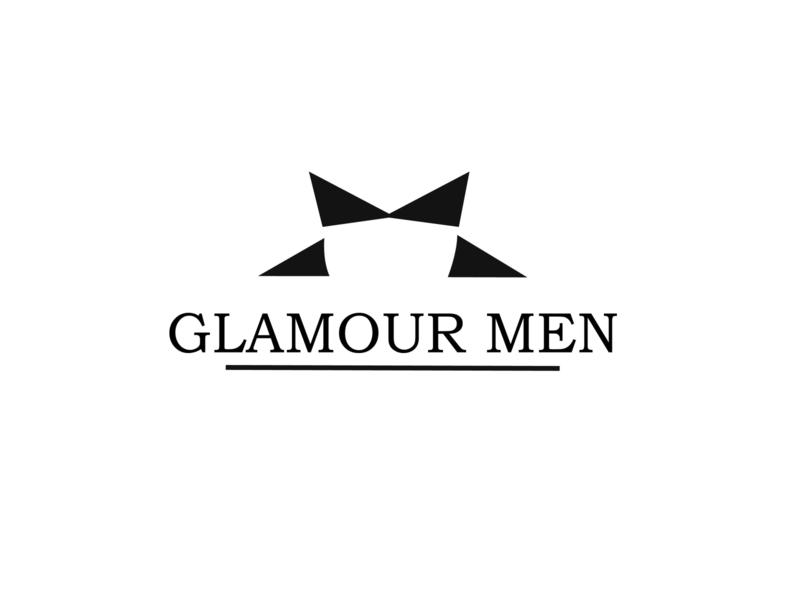 GLAMOUR MEN simple design minimalist logo minimalistic simplistic logo design logos icon logoconcept design vector minimal simple logo concept logodesigns flat logo