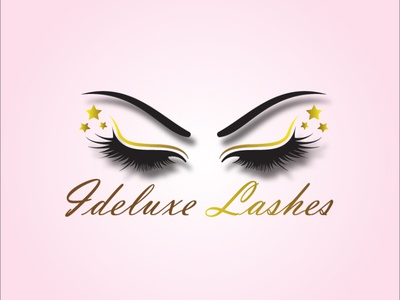Ideluxe Lashes  Part1 brochure design icon animation vector logo illustrator illustration design branding art