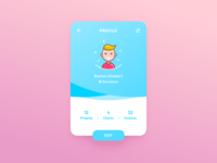 User Profile – Daily UI #005