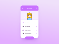 Settings – Daily UI #006
