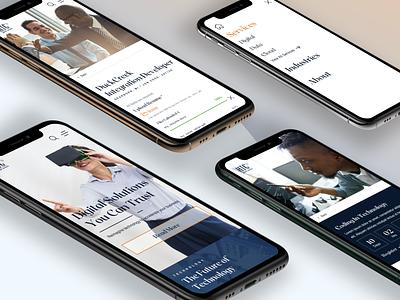 HTC Inc Corporate Design ux principle sketch corporate mobile web design web design ui