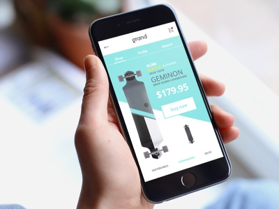 Grand Product Page creative mobile mockup graphicdesign prototype graphic sketch mac ux ui design