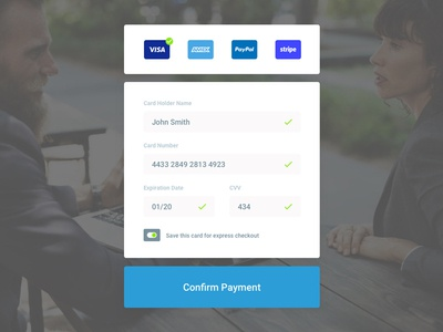 Simple Credit Card Checkout order page ux ui design customer sketch clean simple payment card credit checkout