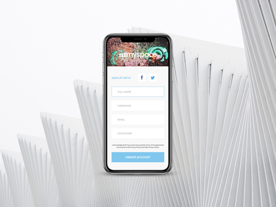 Daily UI #001 Sign Up ux iphonex mockup signup design sketch ui daily