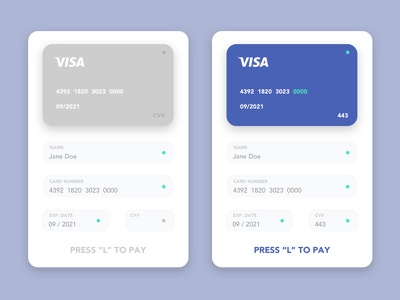 Daily UI #002 Credit Card Checkout pay like cards challenge fun off on sketch ui daily