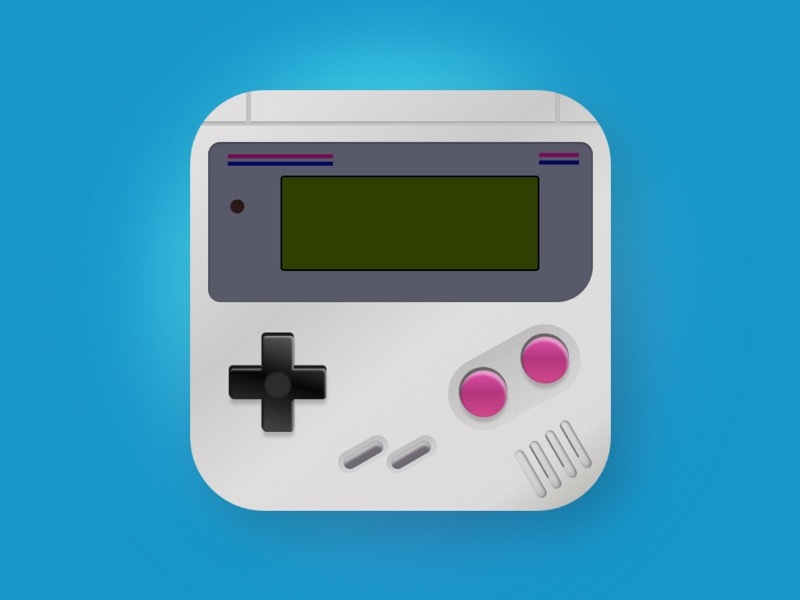 Daily UI #005 App Icon buttons challenge ui daily sketch nintendo boy game icon app