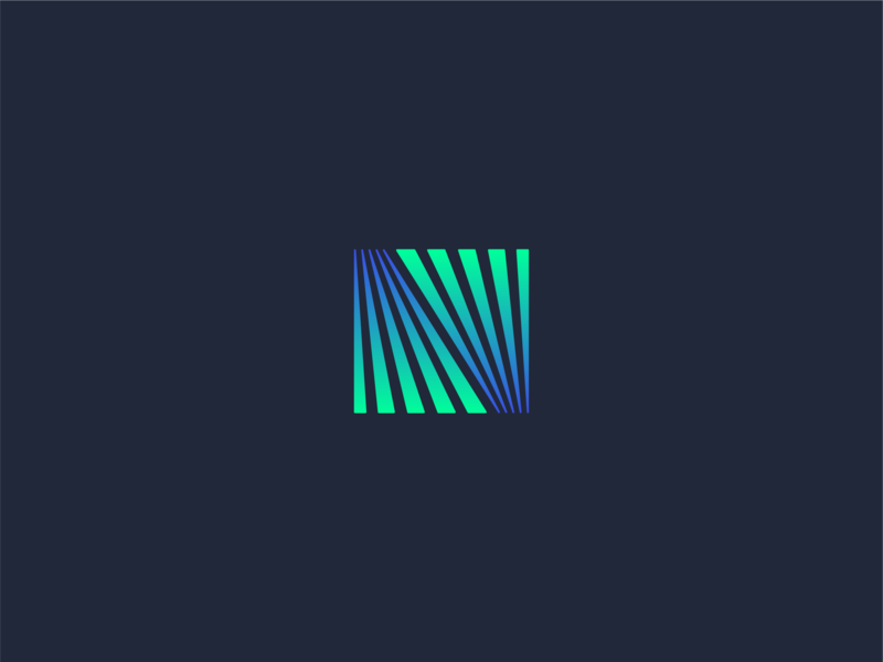 Northern Lights logo brand logomark n letterform typography type sky nature lights north aurora aurora borealis