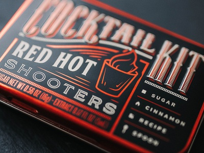 Red Hot Shooters Cocktail Kit