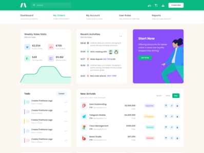 Super excited to release these new goodies soon... stats timeline list todo table widget search menu engage sidebar graph ux flat chart dashboard ui product app admin bootstrap