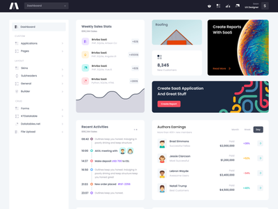 Super excited to release these new goodies soon... stats sidebar menu table timeline engage dark sidebar graph ux flat chart dashboard ui product app admin bootstrap