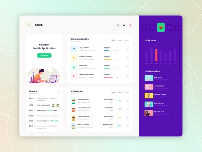 START - Admin theme dashboard design ui dashboard admin bootstrap