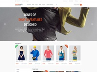 Bootstrap 3 Full Featured eCommerce HTML Template Free