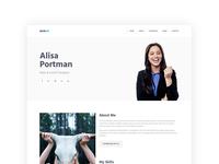 AceCV – Professional CV Parallax Bootstrap Template