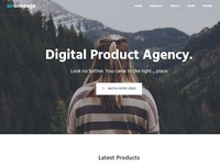 Aironepage – One Page Bootstrap Theme