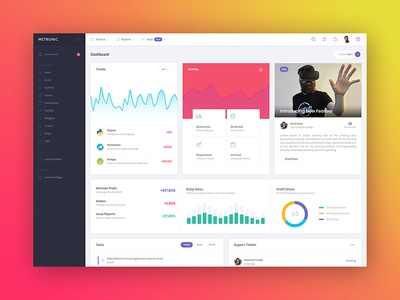 Metronic 5 - Bootstrap Admin Dashboard - Demo 1