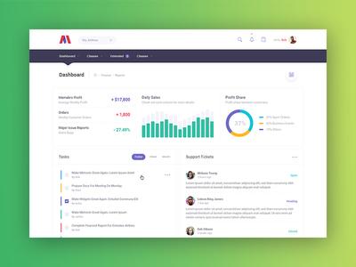 Metronic 5 - Bootstrap Admin Dashboard - Demo 5