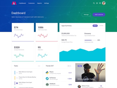 KeenThemes / Projects / Metronic - Responsive Admin Dashboard ...