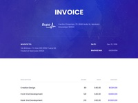 Invoice option for Keen Admin