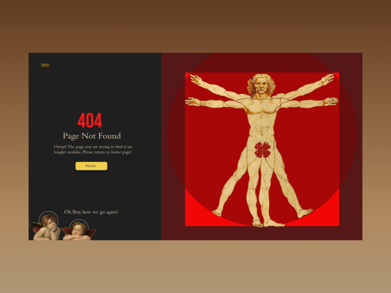 Renaissance Art - 404 Page mappa mundi 404 not found 404 error 404 page 404 rebounds rebound library visual design angels raphael da vinci leonardo da vinci visual art web design ui ux art renaissance
