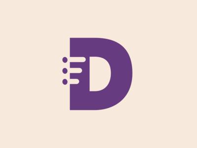 Deaton Logo Mark side project branding logo